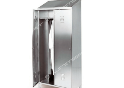 Inox locker for locker room