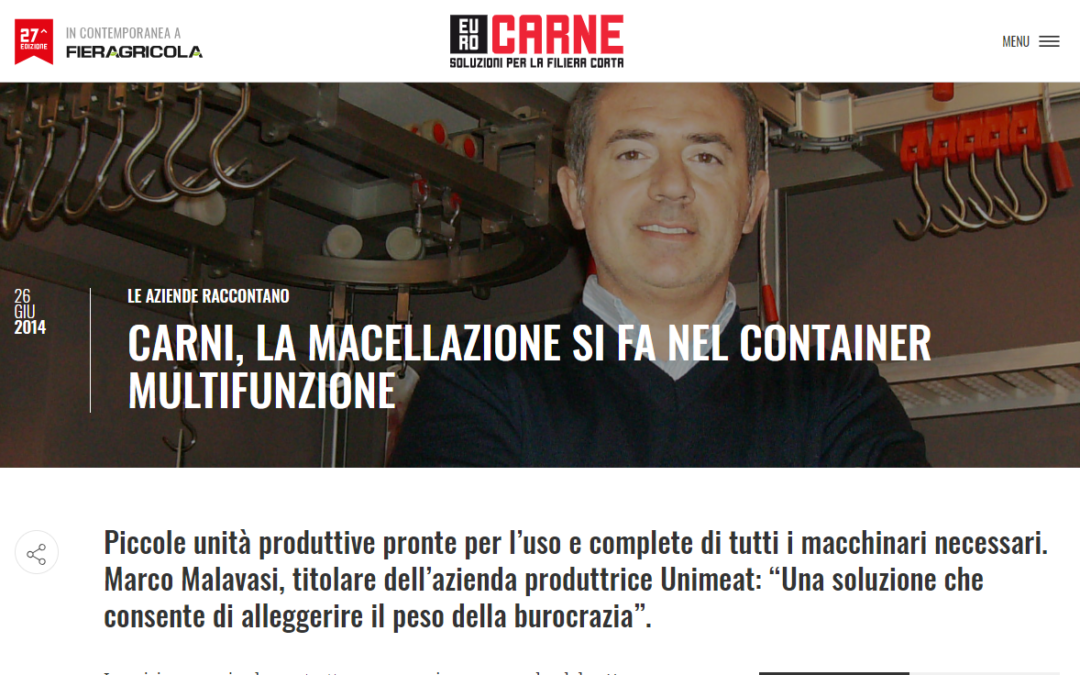 MEAT, SLAUGHTERING IS MULTIFUNCTIONAL CONTAINER
