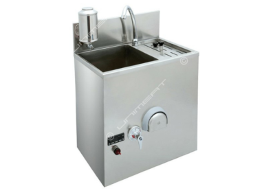 Washbasin sink with sterilizer