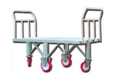 Inox trolley for hams