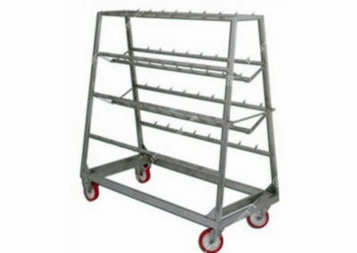 Inox trolley various uses